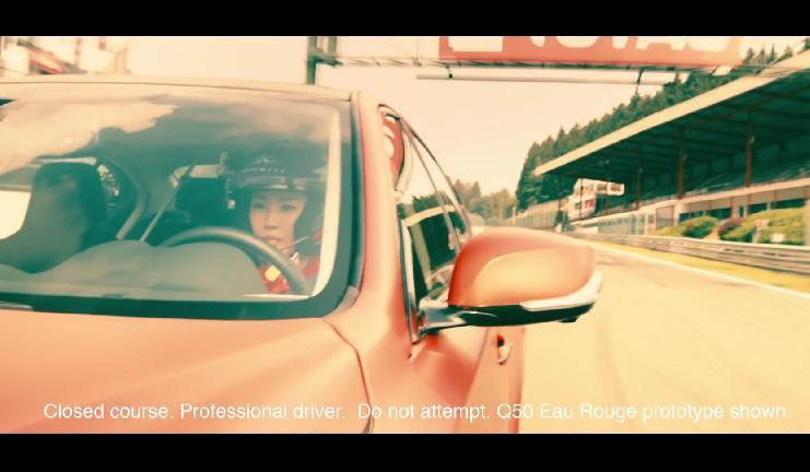 Infiniti Q50 Eau Rouge vine la Spa Francorchamps sa-si etaleze calitatile