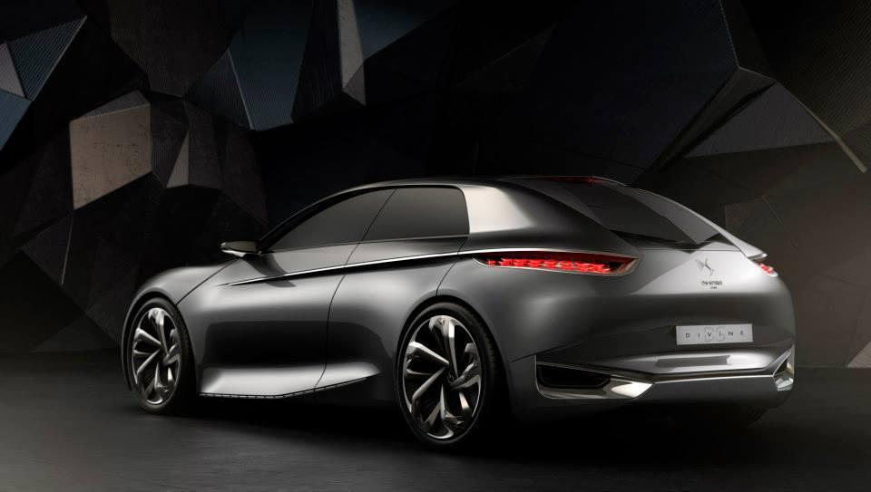 Paris 2014: Citroën a prezentat conceptul Divine DS