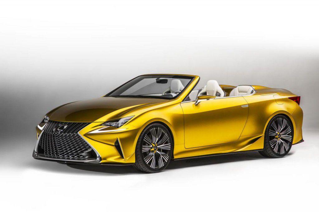Oficial: Lexus LF-C2 Concept a debutat la Los Angeles