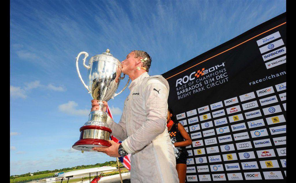 David Coulthard a castigat Cursa Campionilor 2014