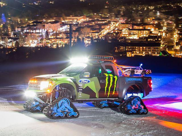 Ford F-150 RaptorTRAX prezentat de Ken Block