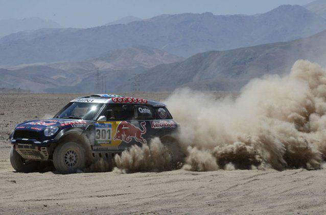 Raliul Dakar 2015 – Etapa 5 – Vasilyev termină primul, iar Nasser Al-Attiyah rămâne lider la general