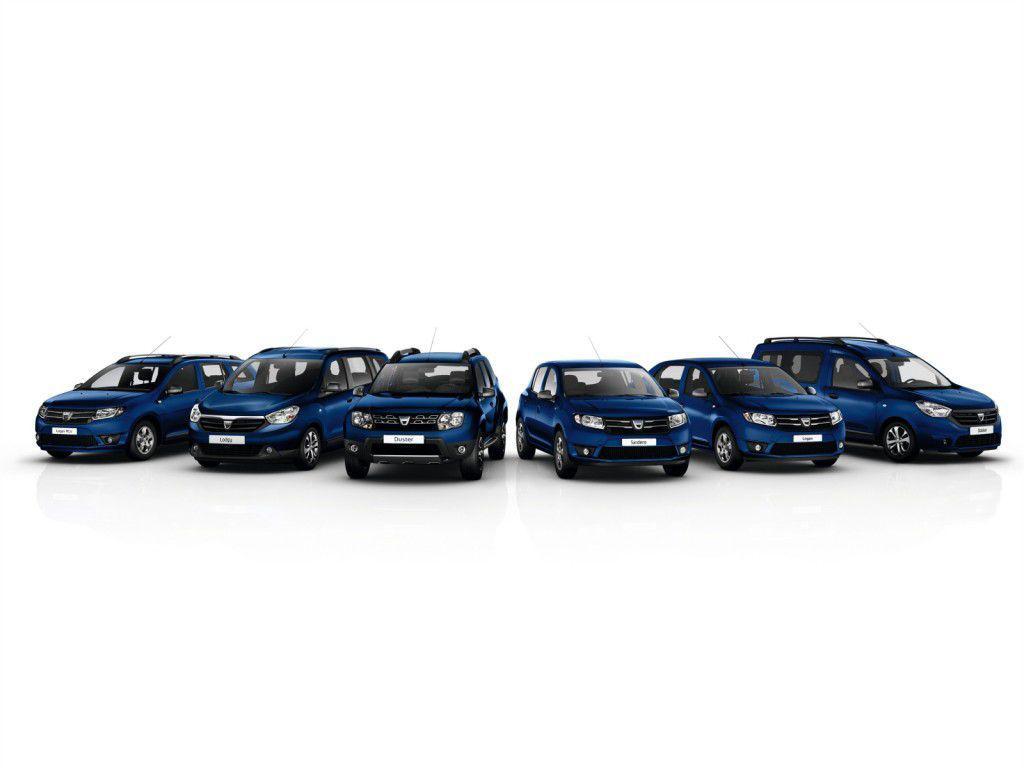 Versiuni aniversare Dacia pentru fiecare model din gamă