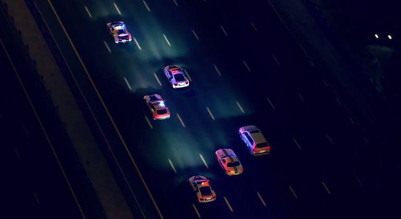 """Poliția din Dubai își face de cap pe străzile orașului cu """"armata"""" de supercar-uri"""