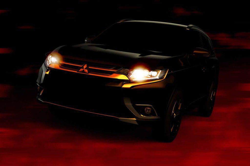 Mitsubishi Outlander facelift – Primele imagini teaser