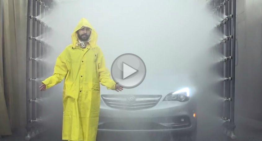Test de etanșeitate pentru decapotabila Buick Cascada