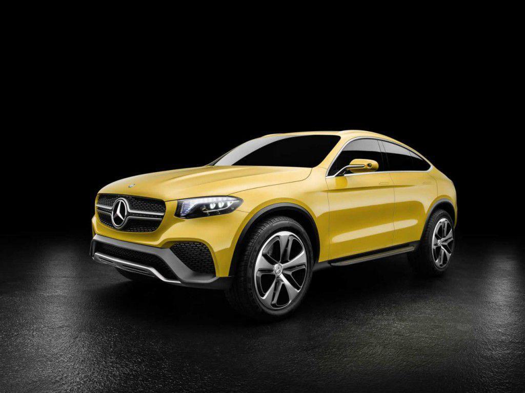 Mercedes-Benz GLC Coupe Concept – Poze și detalii oficiale cu rivalul lui BMW X4