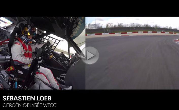 Sebastien Loeb își face de cap pe Nürburgring Nordschleife