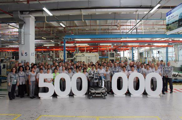 Dacia celebrează 500.000 de motoare Energy Tce 90 produse