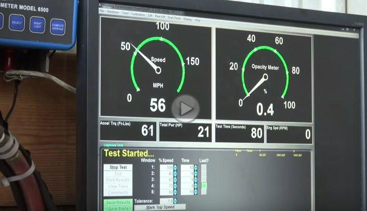 Cum reacționează pe dinamometru o mașină afectată de softul implementat de VW