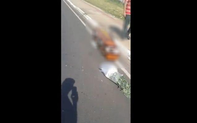 """""""A murit a doua oară""""! Ce a căzut dintr-o mașină în urma unui accident e îngrozitor!   VIDEO"""