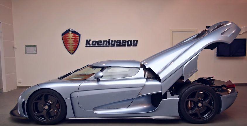 Koenigsegg Regera dispune de modul Autoskin