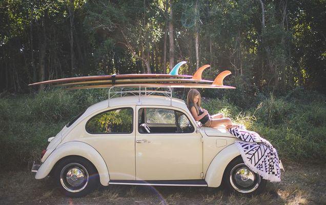 Cele mai frumoase Volkswagen Beetle pentru o femeie   FOTO