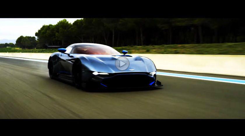 Aston Martin Vulcan, într-un nou clip de prezentare
