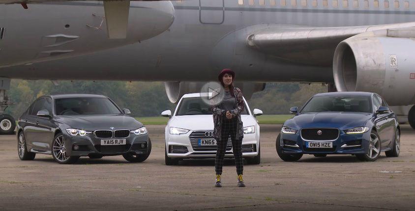 Audi A4 în duel cu Seria 3 și Jaguar XE