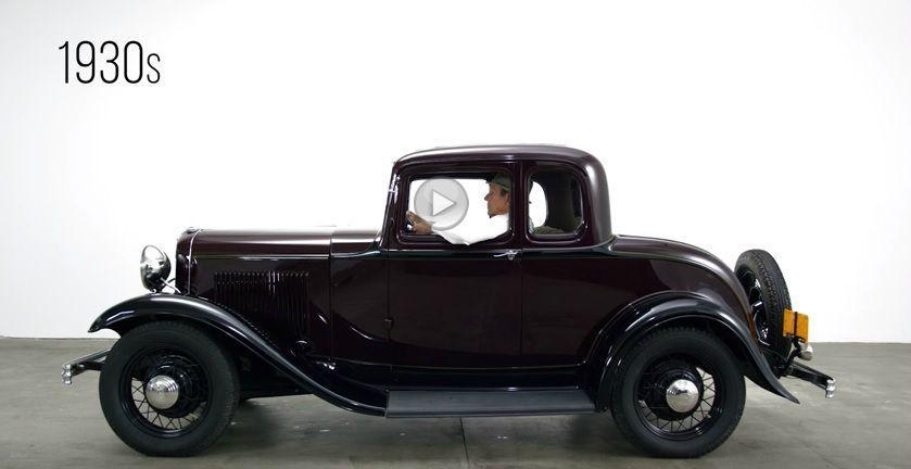 100 de ani de istorie auto în doar câteva minute