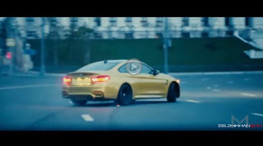 Un BMW M4 provoacă haos în Moscova