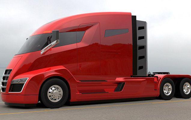 Nikola One, camionul hibrid ce va merge 2000 de kilometri fără realimentare