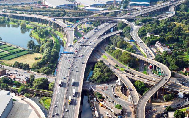Este acesta cel mai complicat nod rutier din Europa? Faci față aici fără GPS?