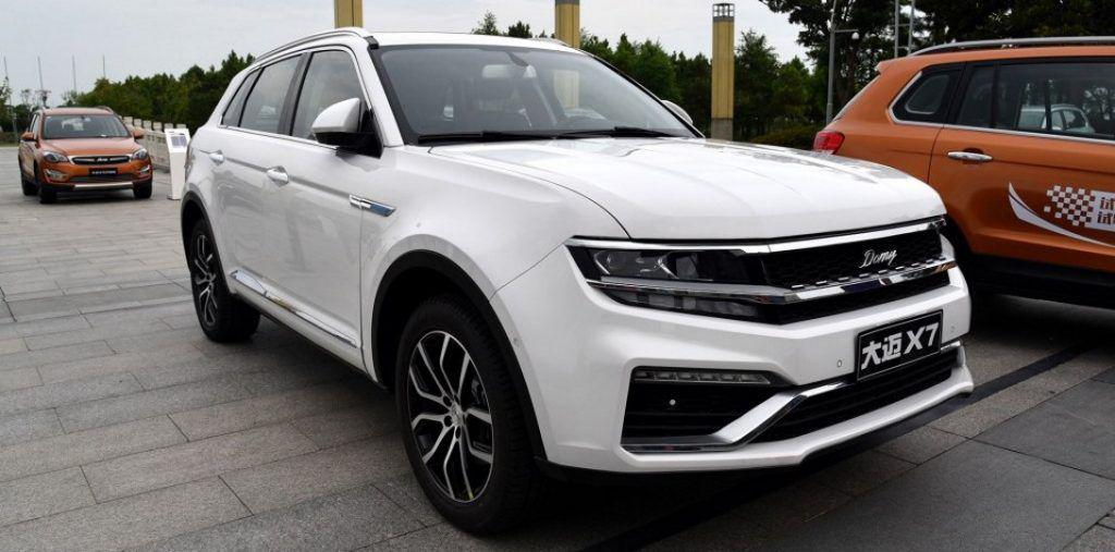 Zotye Damai X7, clona din China a noii generații Volkswagen Tiguan