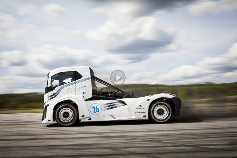 Volvo Iron Knight a doborât două recorduri de viteză