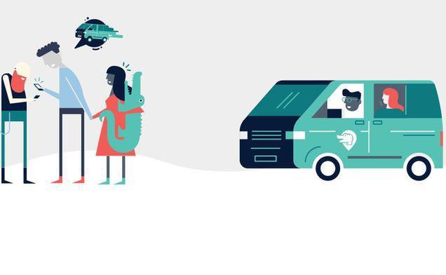Taxiul revoluționar pentru care nemții plătesc doar zece eurocenţi pe kilometru