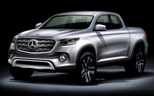 Pick-upul Mercedes-Benz va debuta pe 25 octombrie – Update