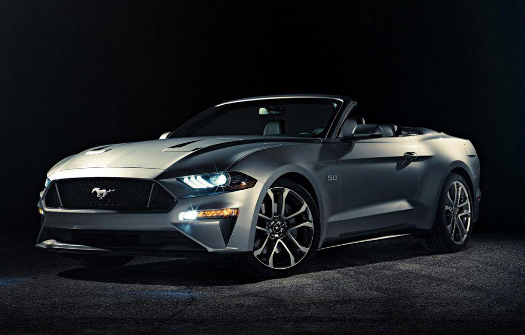 Ford Mustang Convertible facelift – Primele poze oficiale