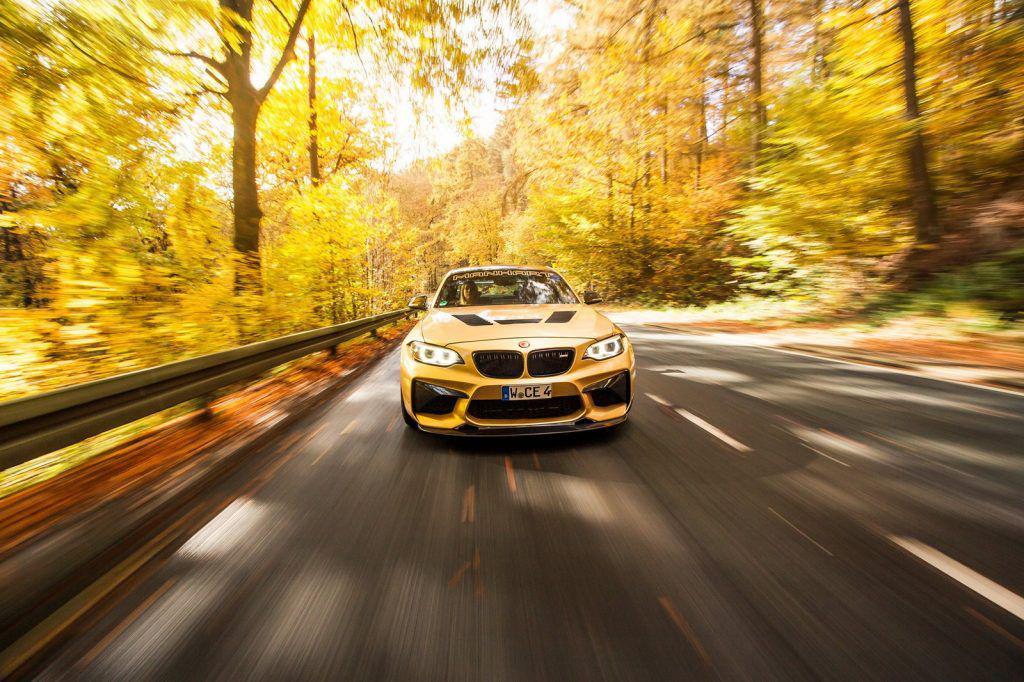 BMW M2 primește și mai mulți cai din partea Manhart. Nici Lamborghini Huracan nu-i atât de puternic