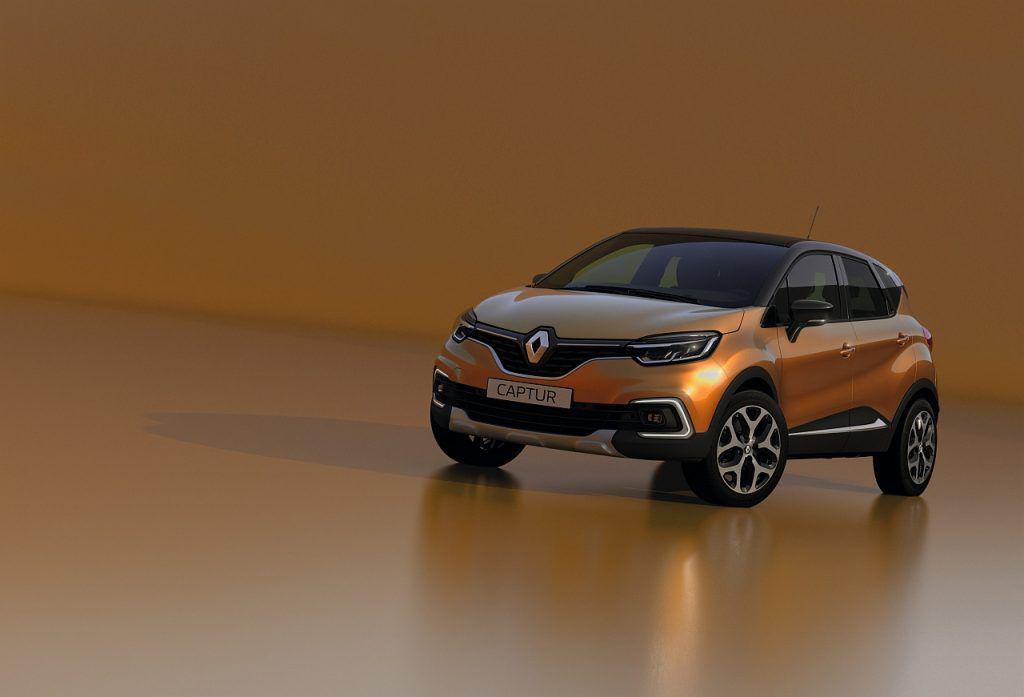 Renault Captur vine în haine noi la Geneva