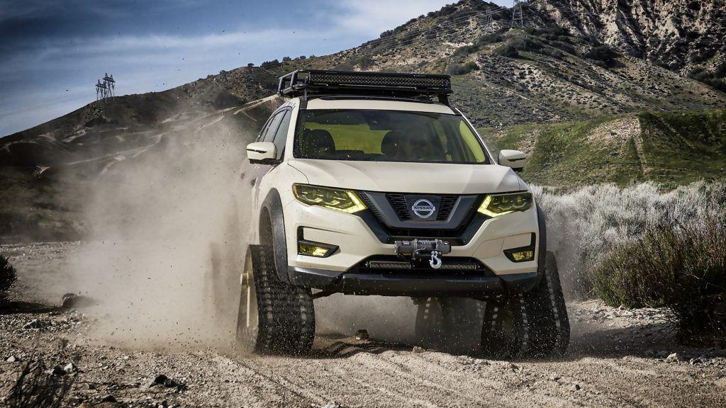 Nissan X-Trail se transformă în Trail Warrior