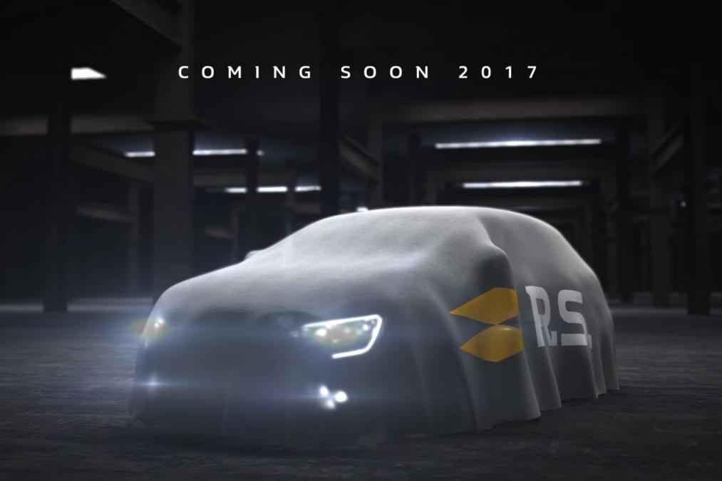 Renault a publicat o imagine teaser cu viitorul Megane RS