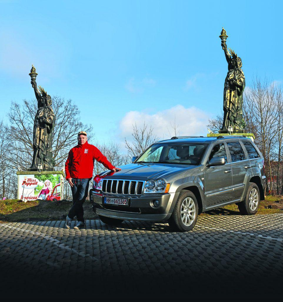 Jeep Grand Cherokee Model WH: Un american de încredere