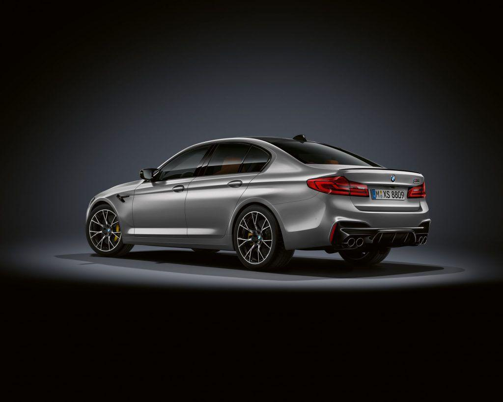 BMW M5 Competition: un plus de putere