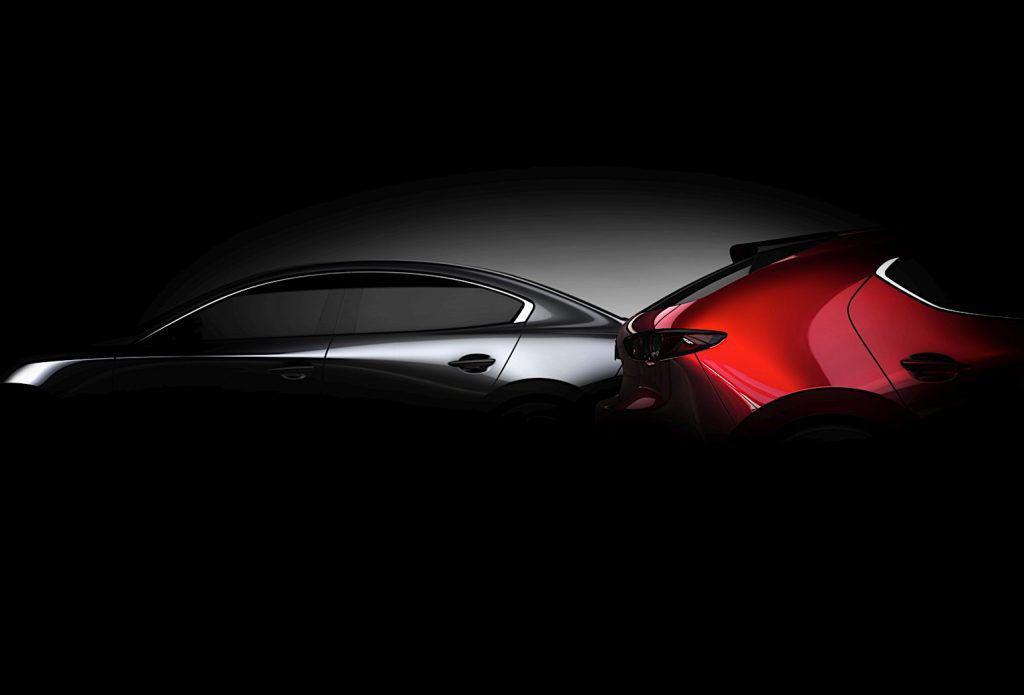 Noua Mazda 3 va debuta la Salonul Auto de la Los Angeles