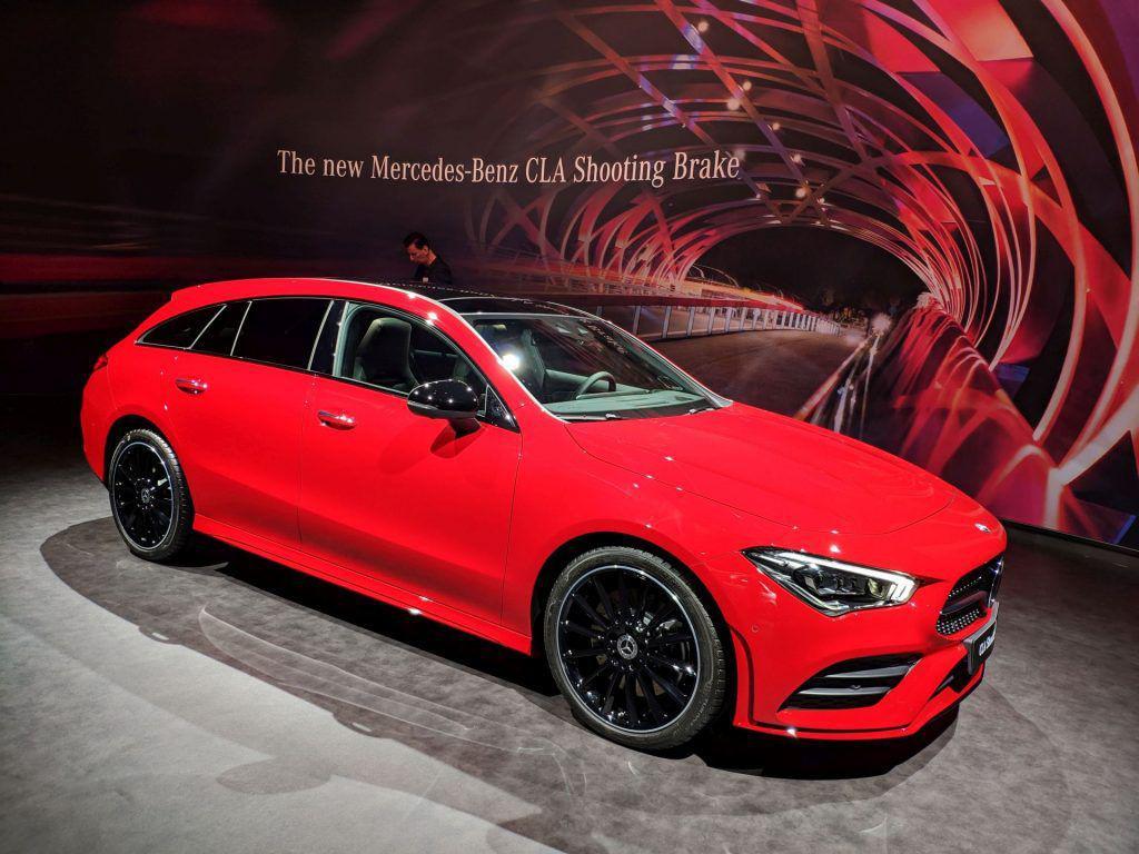 Noul Mercedes-Benz CLA Shooting Brake seduce prin valențele practice