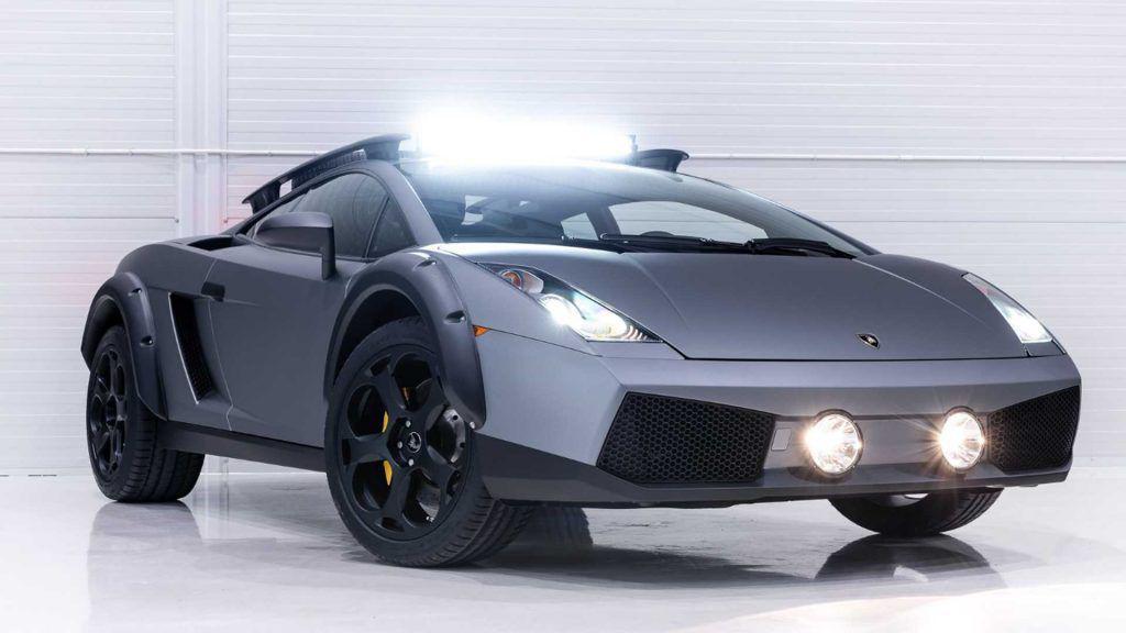 Lamborghini Gallardo pentru… off-road? Exemplar unic scos la vânzare