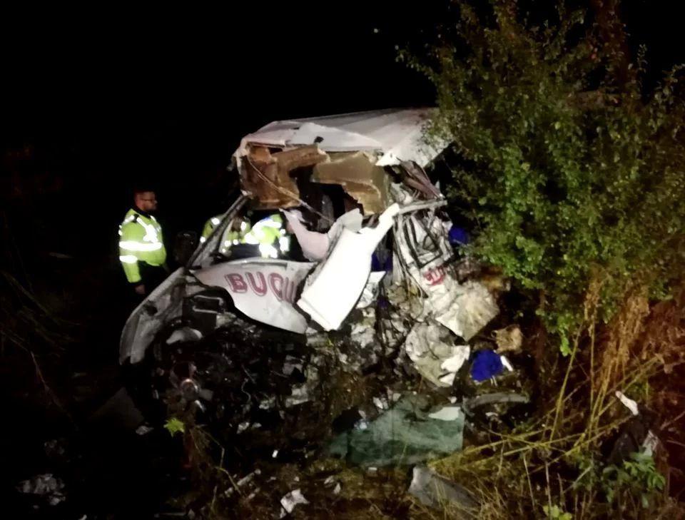 Accident dramatic în Ialomița! 10 oameni au murit și alți 7 au fost răniți