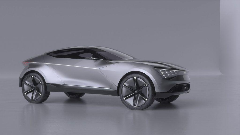Kia Futuron – un SUV coupe electric ce prefigurează liniile noi de design ale companiei