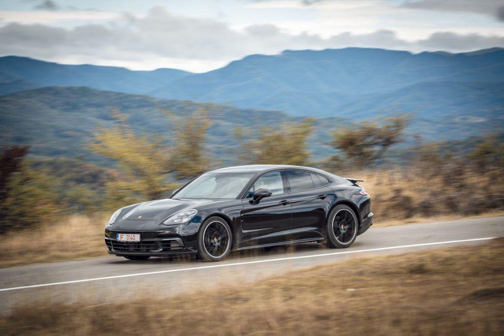 Porsche Panamera 4: Entry level la alt nivel