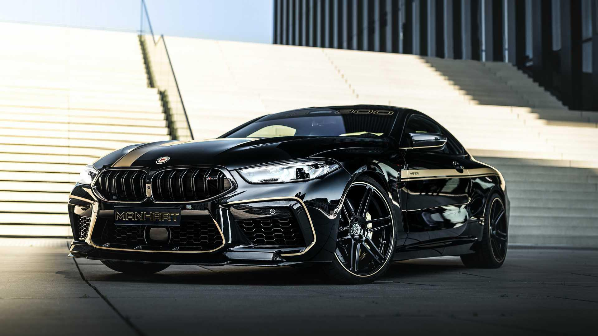 Cel mai rapid BMW M8 Competition din lume: Manhart MH8 800