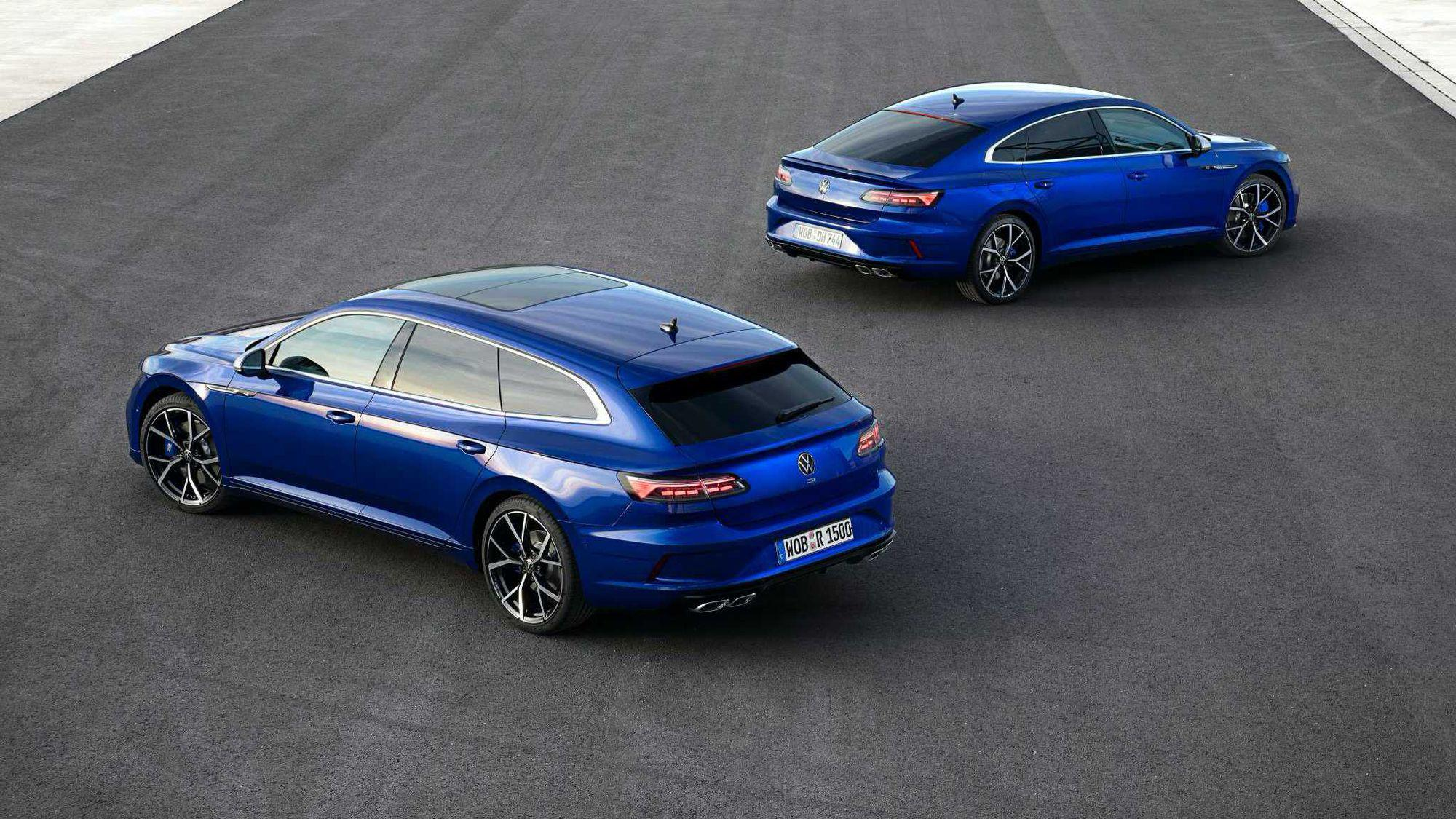 VW Arteon facelift primește versiuni plug-in hybrid, Shooting Brake