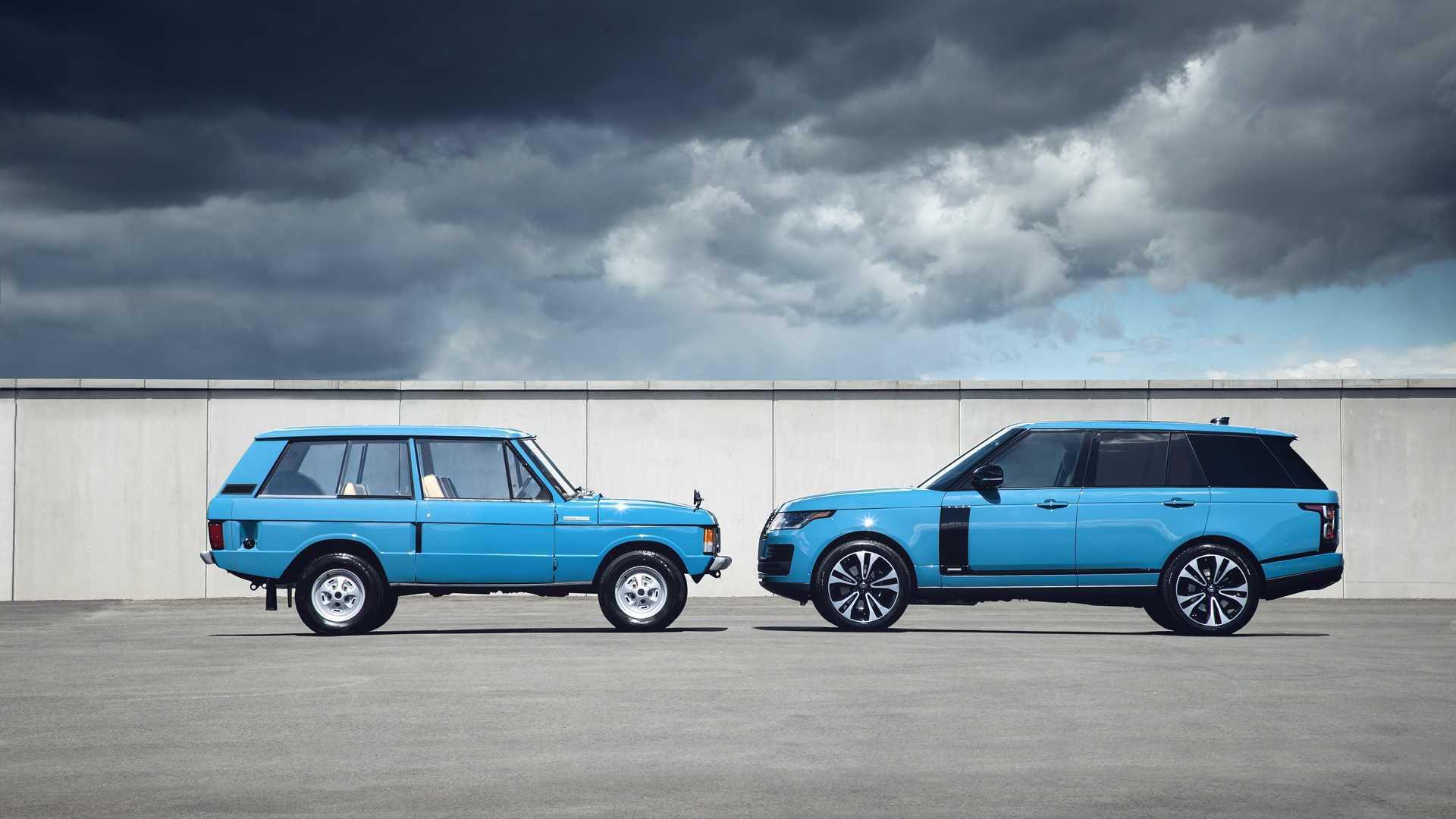 Range Rover aniversează 50 de ani de la debut cu ediția limitată Fifty