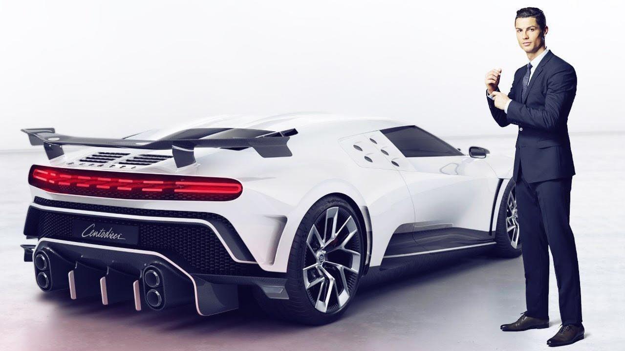 Cristiano Ronaldo își mărește colecția de mașini rare cu un Bugatti Centodieci