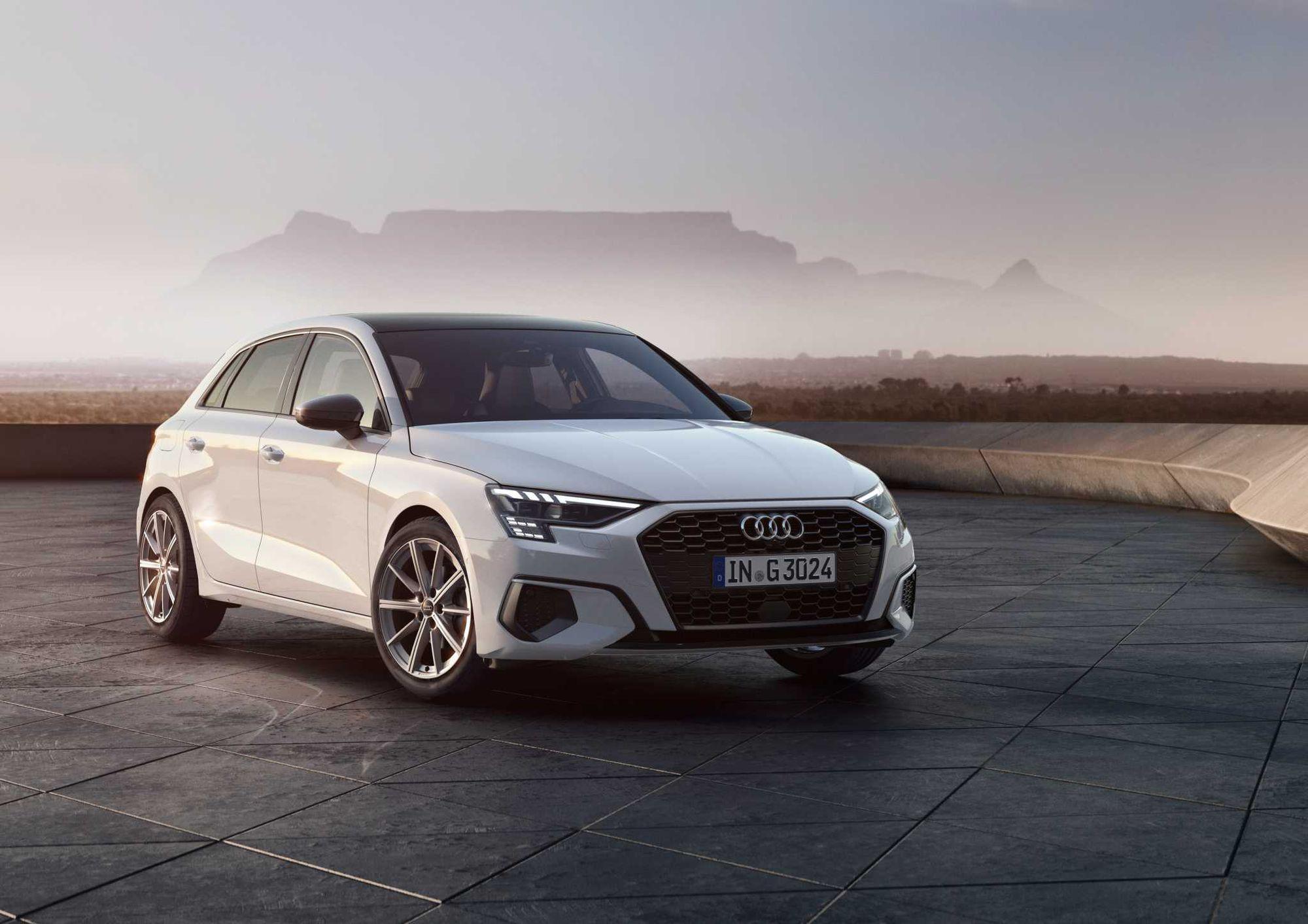 Noul Audi A3 Sportback, disponibil acum și cu motorizare pe gaz