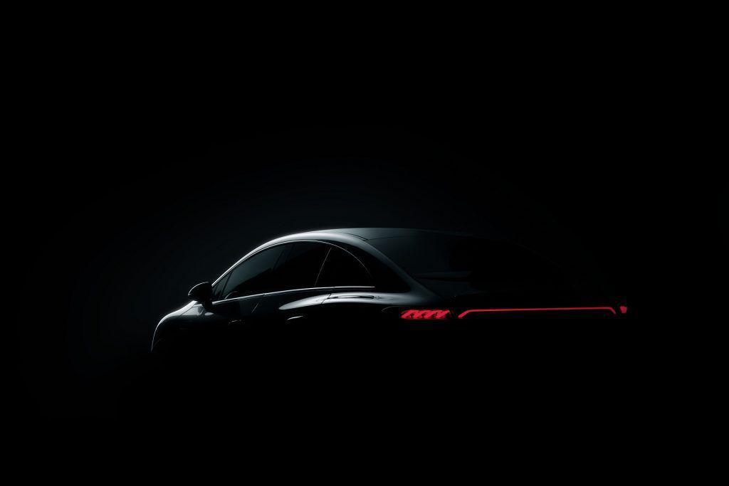Teaser pentru Mercedes EQE. Premiera la IAA Mobility 2021