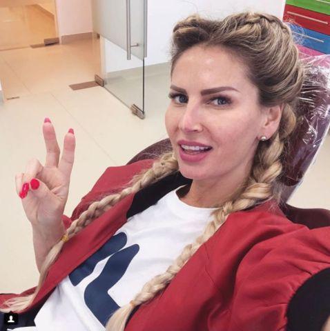 Andreea Banica vacanta in Grecia
