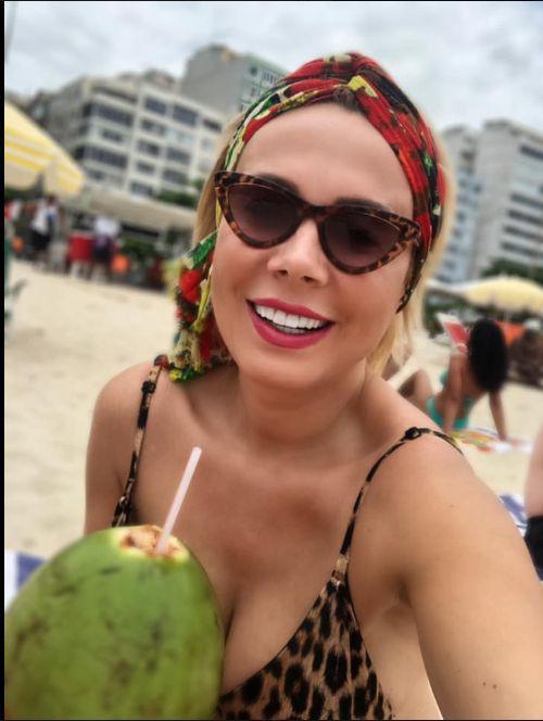 Dana Savuica a sarbatorit 50 de ani in Rio de Janeiro