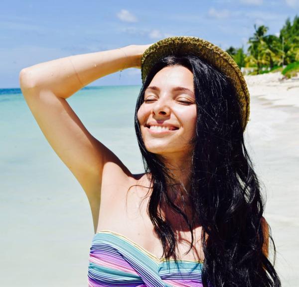 Corina Caragea ne-a dezvaluit secretul parului ei