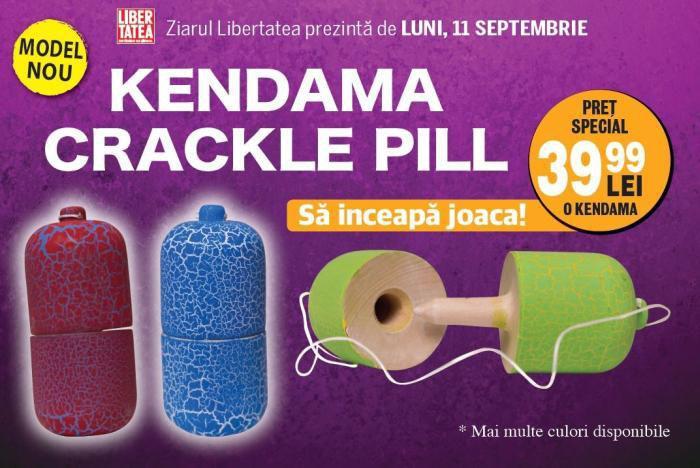 Libertatea prezintă Kendama Crackle Pill. Ce este Kendama?